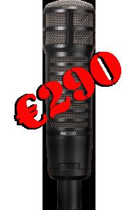 Промо-акция на микрофон Electro-Voice RE320!