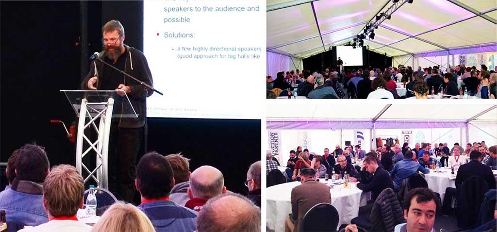 Профессор Ансельм Гёртц прочитал лекцию на тему «Разработка звукоусилительных систем с учетом акустики помещения и уровней шума при помощи современных инструментов моделирования акустической среды и проектирования».