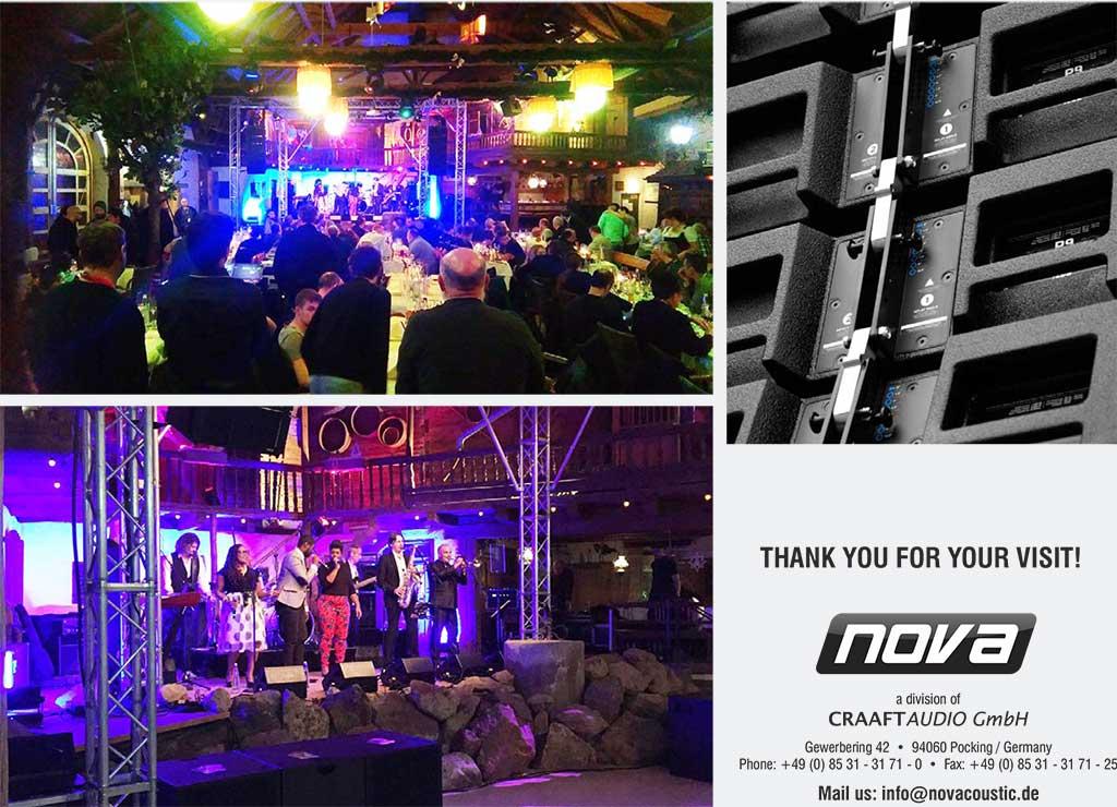 VIP вечеринка с группой SOULKITCHEN завершила Всемирный конгресс дистрибьюторов NOVA 2017