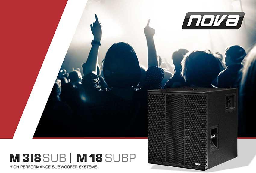 компанияCRAAFT Audio GmbH представила самый мощный и инновационный сабвуфер в мире NOVA M318SUB, а также его версия без усилителя NOVA M18SUB P.